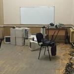 Студенты черновицкого университета живут в читалке, потому что в комнате – кирпич