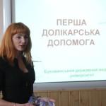 Медики и полиция провели тренинги для учащихся буковинских школ