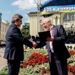 Коллектив БГМУ получил Благодарность Премьер-министра Украины