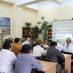 Профессор Лесли Лобель из университета Израиля прочитал лекцию черновицким студентам-медикам
