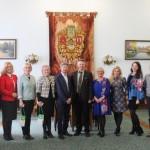 Делегация Института Конфуция КНЛУ посетила Черновицкий национальный университет