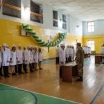 Почти 50 студентов БГМУ составили военную присягу на верность Украинскому народу