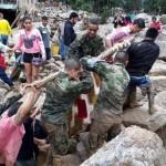 В Колумбии селевой поток накрыл город: более 100 погибших