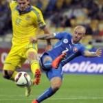 Сборные Украины и Словакии сыграли вничью в матче отбора Евро-2016