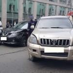 В России водитель грузовика разбил 19 автомобилей