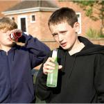Волынские пластуны агитировали против детского алкоголизма