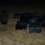 Пограничники поймали контрабандистов с 30 ящиками сигарет