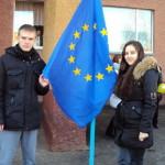 Луцкие школьники верят в европейские перспективы Украины
