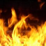 Пенсионер погиб в горящем доме