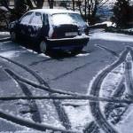 Госавтоинспекция Волыни просит водителей быть особенно внимательными на скользких дорогах