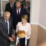 Министру образования и науки Украины Лилии Гриневич показали новый корпус ЧНУ