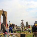 В Польше разрушили надгробный памятник воинам УПА